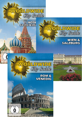 Worldwide City Guide 3er Paket