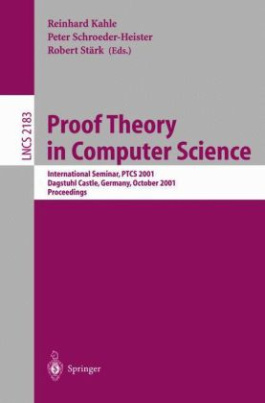 Proof Theory in Computer Science