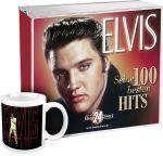 Elvis - Seine 100 besten Hits EXKLUSIV + Tasse