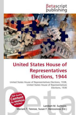 United States House of Representatives Elections, 1944