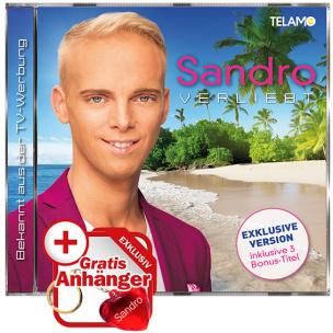 """Verliebt EXKLUSIV + Schlüsselanhänger Herz """"SANDRO"""""""