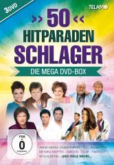 50 Hitparaden Schlager - Die Mega DVD