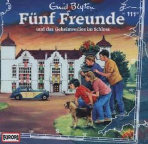 Fünf Freunde und das Geheimverlies im Schloss, 1 Audio-CD