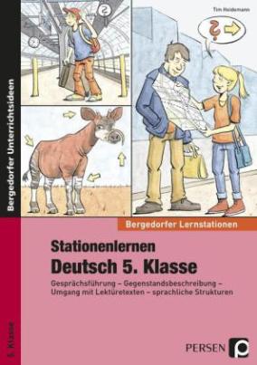 Stationenlernen Deutsch 5. Klasse