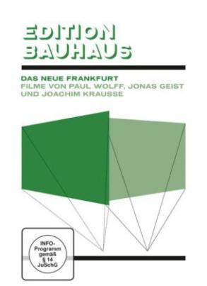 Edition Bauhaus, 1 DVD (Das Neue Frankfurt)