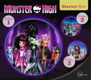 Monster High - Starter-Box, 3 Audio-CDs