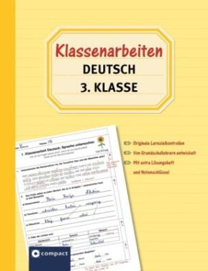 klassenarbeiten deutsch 3 klasse