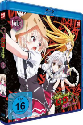 Highschool DXD New, 1 Blu-ray. Tl.4