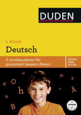 Wissen - Üben - Testen: Deutsch 4. Klasse