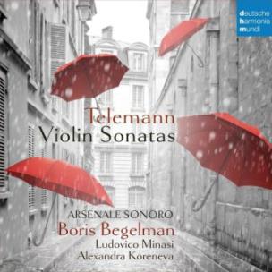Violin Sonatas, 1 Audio-CD