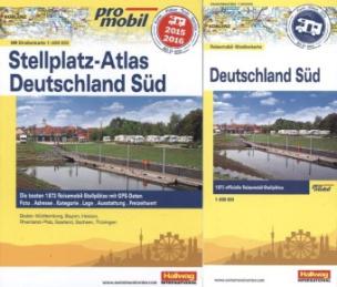 promobil Stellplatz-Atlas Deutschland Süd 2015/2016