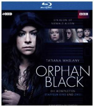 Orphan Black - Boxset, 4 Blu-rays