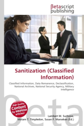 Sanitization (Classified Information)