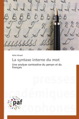 La syntaxe interne du mot