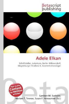 Adele Elkan