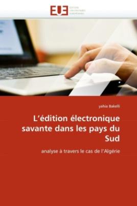 L'édition électronique savante dans les pays du Sud
