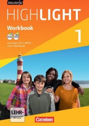 5. Schuljahr, Workbook mit Audio-CD (+MP3) und e-Workbook