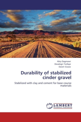 Durability of stabilized cinder gravel