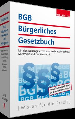 BGB - Bürgerliches Gesetzbuch Ausgabe 2015 (TB)
