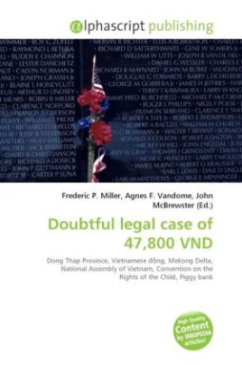Doubtful legal case of 47,800 VND