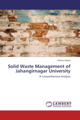 Solid Waste Management of Jahangirnagar University
