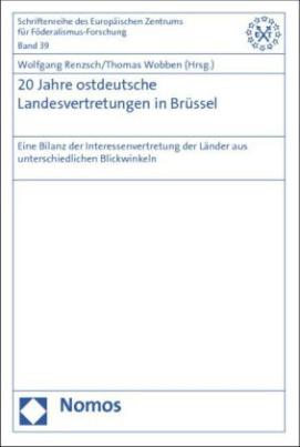 20 Jahre ostdeutsche Landesvertretungen in Brüssel