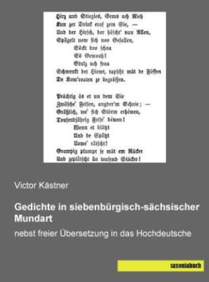 Gedichte in siebenbürgisch-sächsischer Mundart