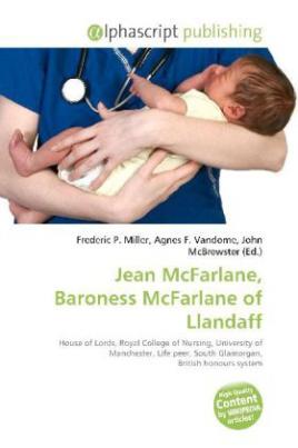 Jean McFarlane, Baroness McFarlane of Llandaff