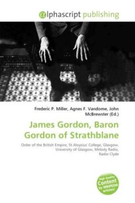 James Gordon, Baron Gordon of Strathblane