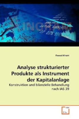 Analyse strukturierter Produkte als Instrument der Kapitalanlage