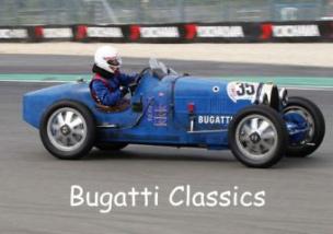 Bugatti Classics (Posterbuch DIN A2 quer)