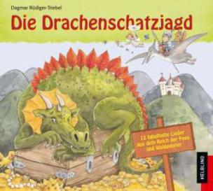 Die Drachenschatzjagd, Audio-CD