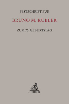 Festschrift für Bruno M. Kübler zum 70. Geburtstag
