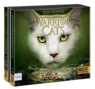 Warrior Cats - Zeichen der Sterne. Die letzte Hoffnung, 5 Audio-CDs