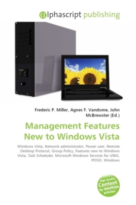 Management Features New to Windows Vista
