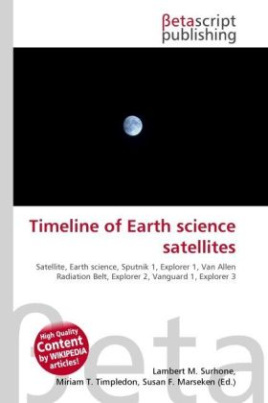 Timeline of Earth science satellites