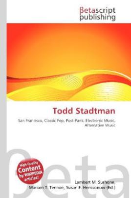 Todd Stadtman