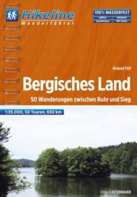 Hikeline Wanderführer Bergisches Land