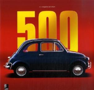 """Fiat 500 - """"Cinquecento"""", Bildband u. 4 Audio-CDs"""