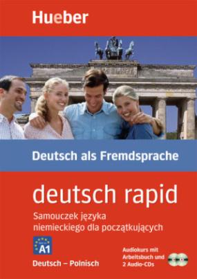 deutsch rapid, Deutsch-Polnisch, Audiokurs mit Arbeitsbuch und 2 Audio-CDs