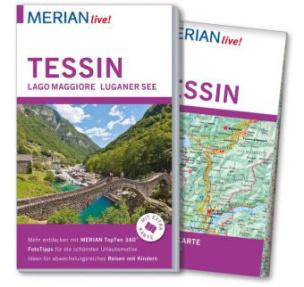 MERIAN live! Reiseführer Tessin, Lago Maggiore, Luganer See