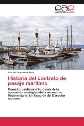 Historia del contrato de pasaje marítimo