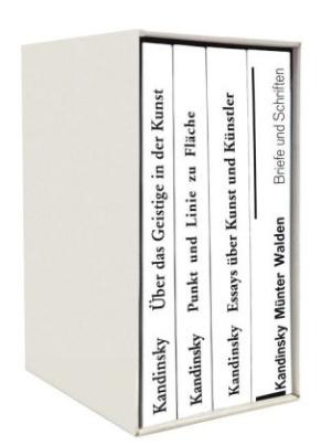 Die Kandinsky Basis-Bibliothek, 4 Bde.