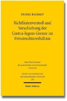 Richtlinienverstoß und Verschiebung der Contra-legem-Grenze im Privatrechtsverhältnis