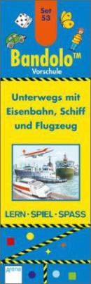 Unterwegs mit Eisenbahn, Schiff und Flugzeug (Kinderspiel)