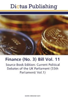 Finance (No. 3) Bill Vol. 11