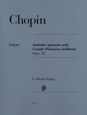 Andante spinato und Grande Polonaise brillante Es-Dur op.22, Klavier