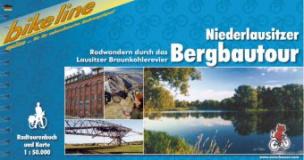 Bikeline Radtourenbuch Niederlausitzer Bergbautour