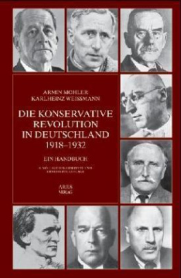 Die Konservative Revolution in Deutschland 1918-1932