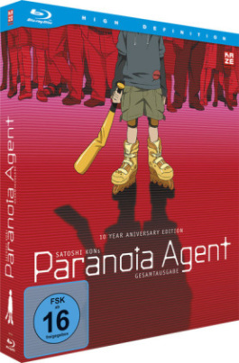 Paranoia Agent, Gesamtausgabe, 2 Blu-rays